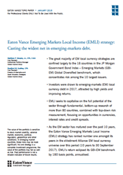 casting the widest net in emerging markets debt