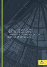 the case for european long lease real estate contributing to more certain investment outcomes