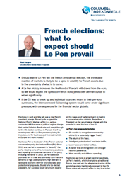 french elections what to expect should le pen prevail