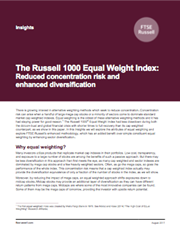 the russell 1000 equal weight index