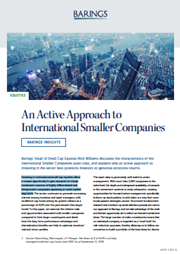 An Active Approach to International Smaller Companies