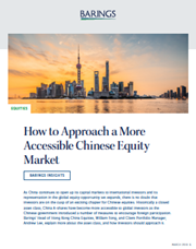 How to Approach a More Accessible Chinese Equity Market