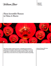 three investible themes in china a shares