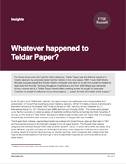 whatever happened to teldar paper