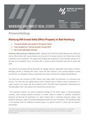 2018 12 03 press release warburg hih invest sells office property in bad homburg page 1
