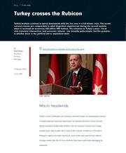 turkey crosses the rubicon