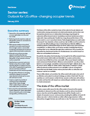 Outlook for US office - changing occupier trends