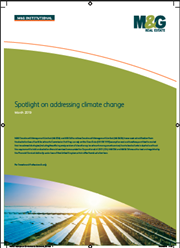 Spotlight on addressing climate change