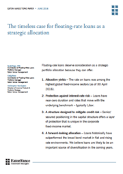 The timeless case for floating-rate loans as a strategic allocation index