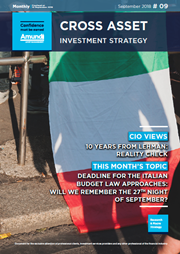 cross asset investment strategy september 2018