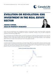 esg evolution or revolution