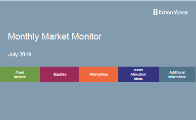 Monthly Market Monitor - July 2019