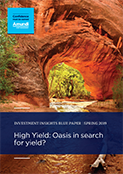 High Yield: Oasis In Search For Yield?