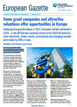 Some great companies and attractive valuations offer opportunities in Europe