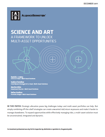 science and art a framework to unlock multi asset opportunities