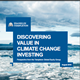 Discovering Value In Climate Change Investing
