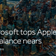 Microsoft tops Apple as Russell Rebalance nears