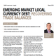 Emerging Market Local Currency Debt: Recovering Trade Balances