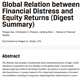 cfa financial distress and equity returns