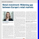 retail investment widening gap between europes retail markets