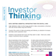 investor thinking strategic directions