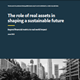 ESG gets physical: The role of real assets in creating a sustainable future