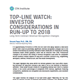 top line watch investor considerations in run up to 2018