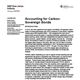 accounting for carbon sovereign bonds