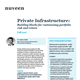private infrastructure building blocks for customizing portfolio risk and return