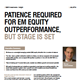 Patience Required For Em Equity Outperformance, But Stage Is Set