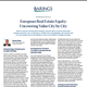 European Real Estate Equity: Uncovering Value City by City