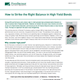 how to strike the right balance in high yield bonds