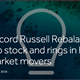 Record Russell Rebalance rejiggers top stock and rings in high profile market movers