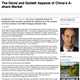 the david and goliath aspects of chinas a share market