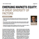 em equity a great diversity of factors