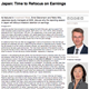japan time to refocus on earnings