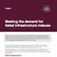meeting the demand for listed infrastructure indexes