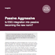 assive aggressive