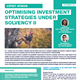 optimising investment strategies under solvency ii