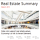 Real Estate Summary Edition 3, 2019