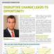 disruptive change leads to opportunity