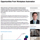opportunities from workplace automation