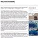 return to volatility
