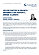 opportunities growth prospects in regional office markets
