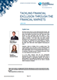 tackling financial exclusion through the financial markets
